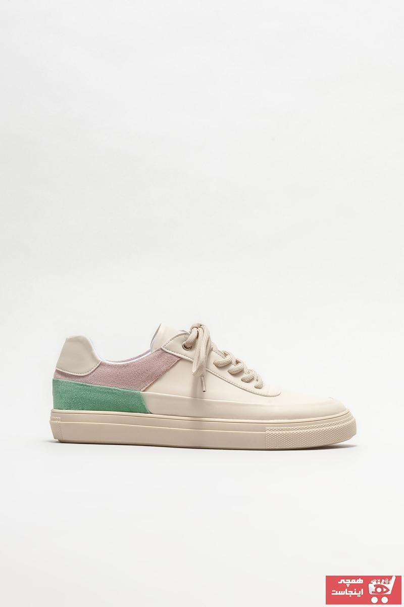 خرید نقدی اسپرت شیک برند Elle Shoes رنگ بژ کد ty97216190
