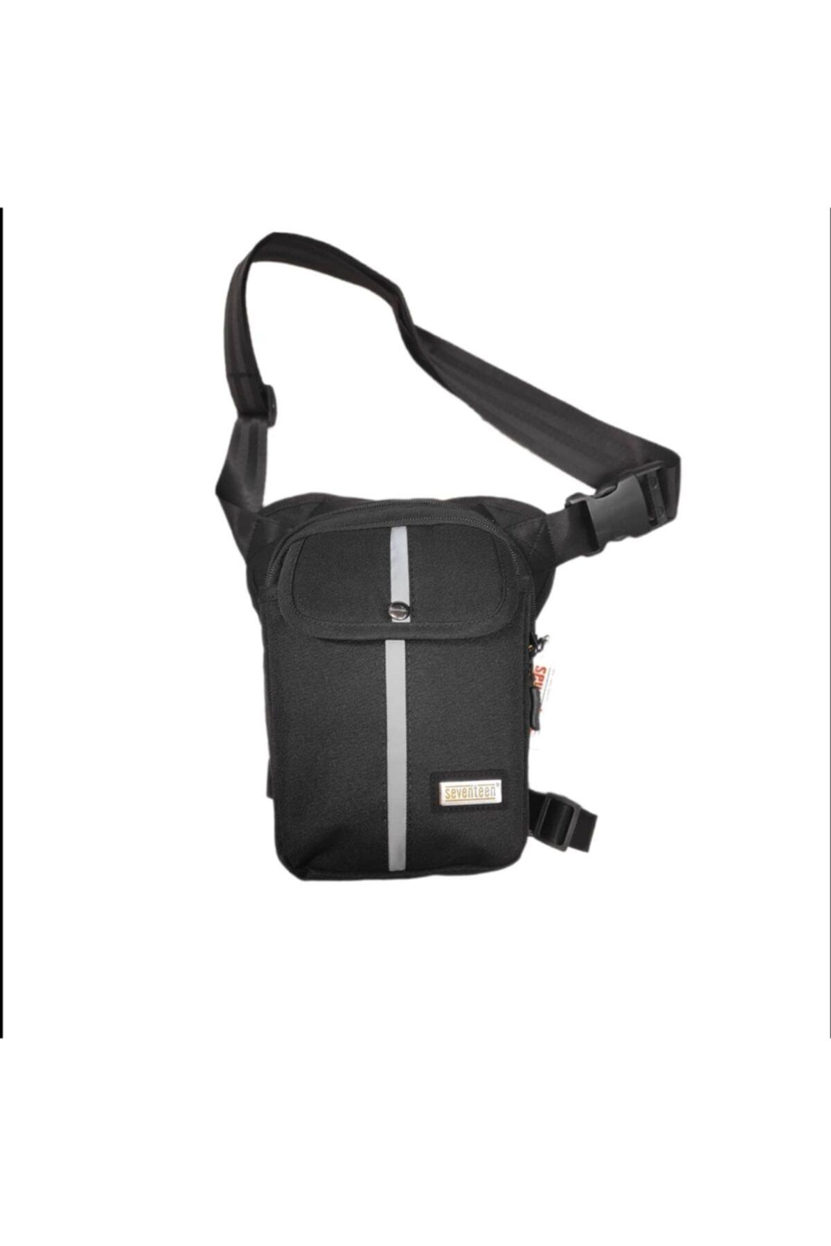 کیف کمری مردانه مدل دار برند Gölge kemer cüzdan ve çanta رنگ مشکی کد ty101103161