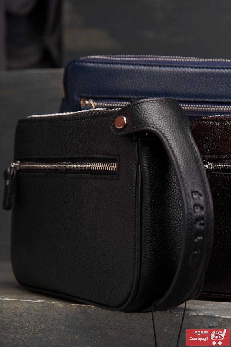کیف دستی مردانه فروش برند A STAFF رنگ مشکی کد ty102762285