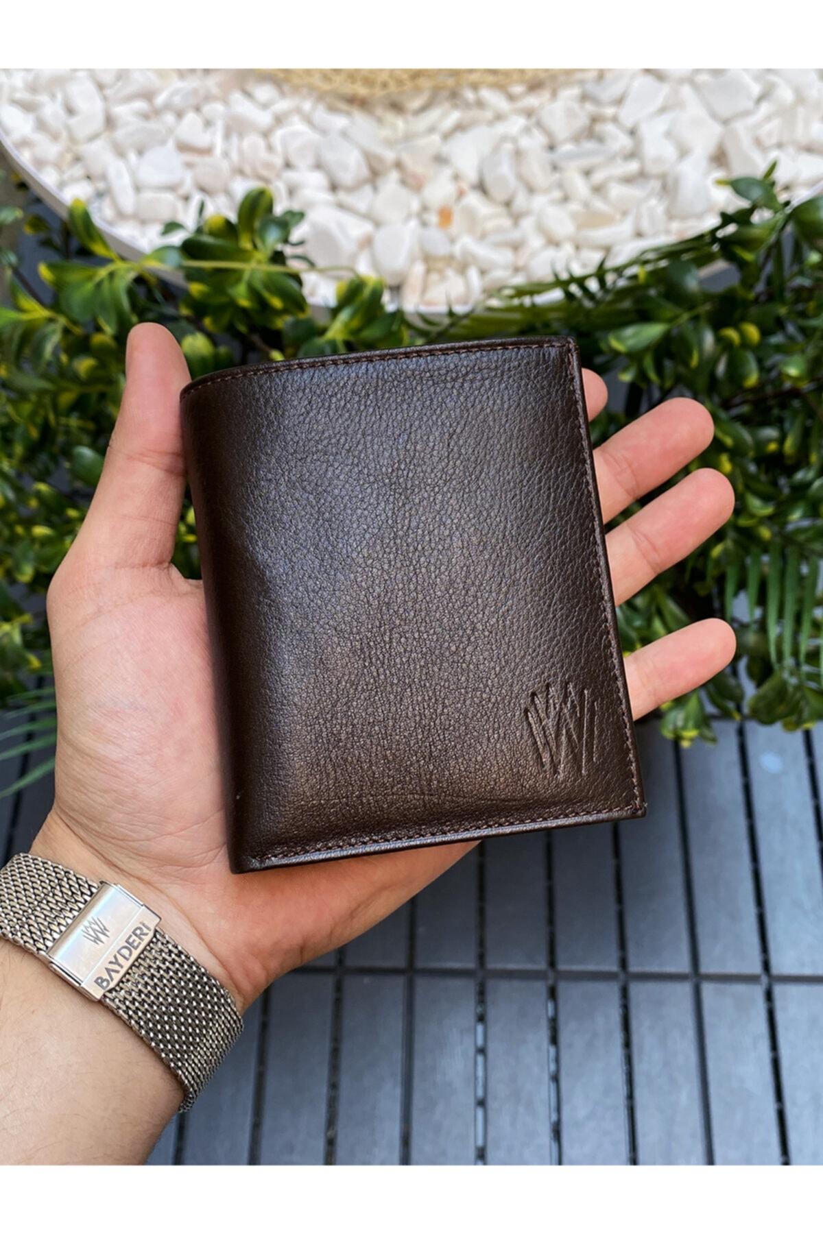 فروش پستی کیف پول مردانه ترک برند BAYDERİ رنگ قهوه ای کد ty111327445