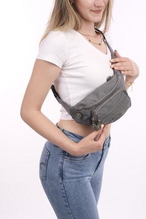 سفارش کیف کمری مردانه ارزان برند Smurne رنگ نقره ای کد ty113356005