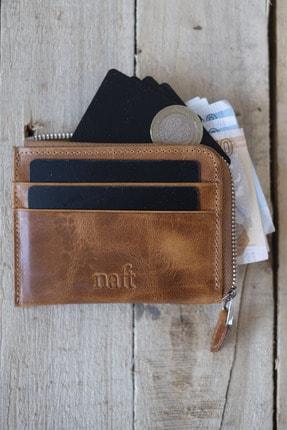 کیف کارت اعتباری مردانه ترکیه برند naft رنگ قهوه ای کد ty121396077