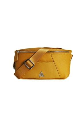 فروشگاه کیف کمری مردانه برند Oray Çanta رنگ زرد ty123232303