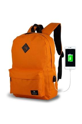 فروش کوله پشتی مردانه ترک مجلسی برند My Valice رنگ نارنجی کد ty4194656