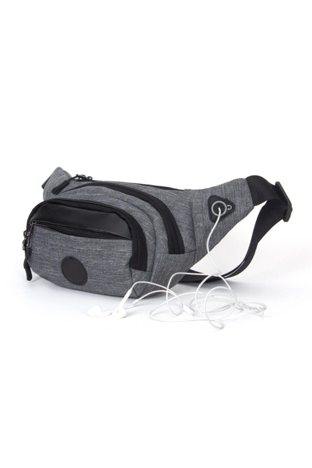 کیف کمری مردانه اسپرت جدید برند Newish Polo رنگ نقره ای کد ty66516562