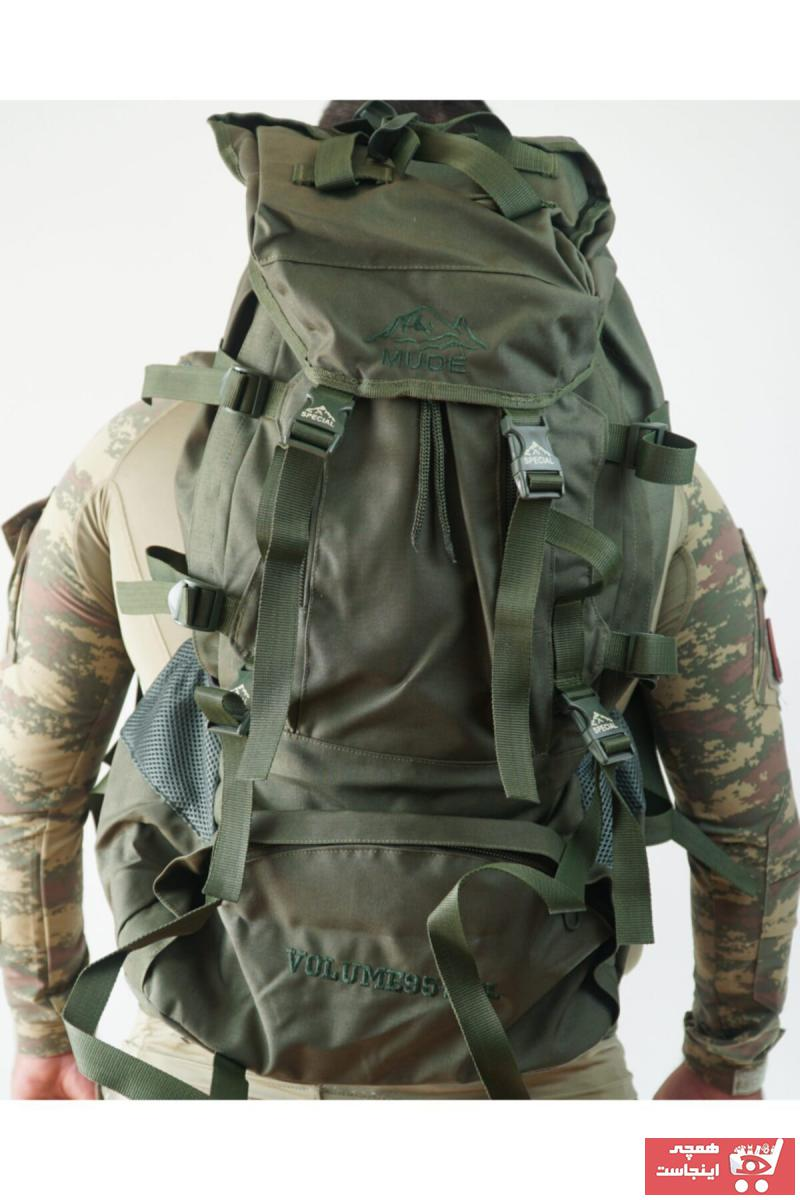 خرید ارزان کوله پشتی مردانه  برند Askerimalzemelerim رنگ خاکی کد ty72674541