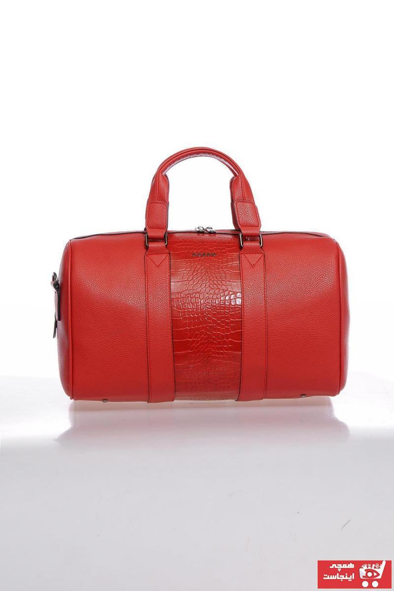 فروش کیف ورزشی مردانه 2020 برند Fossil رنگ قرمز ty73934068