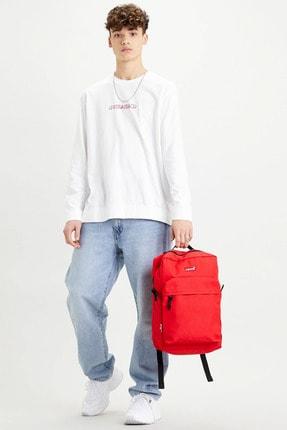 کوله پشتی مردانه ارزان قیمت برند لیوایز رنگ قرمز ty86709155