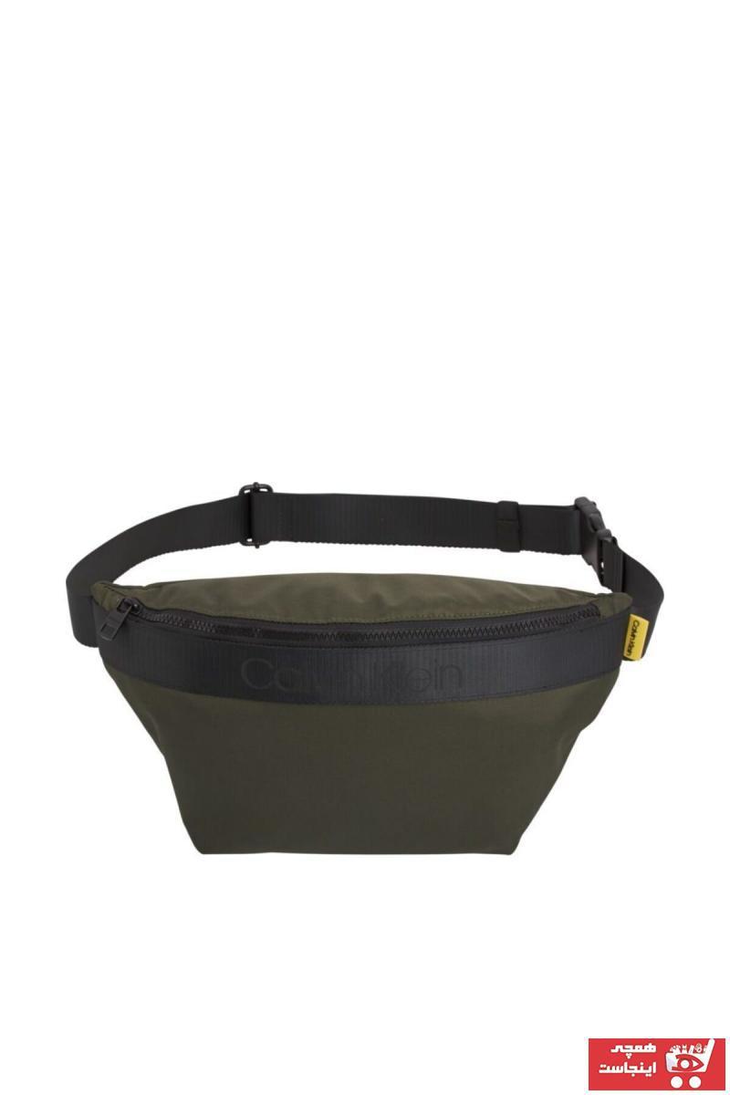 کیف ورزشی مردانه برند کلوین کلین رنگ سبز کد ty90316416