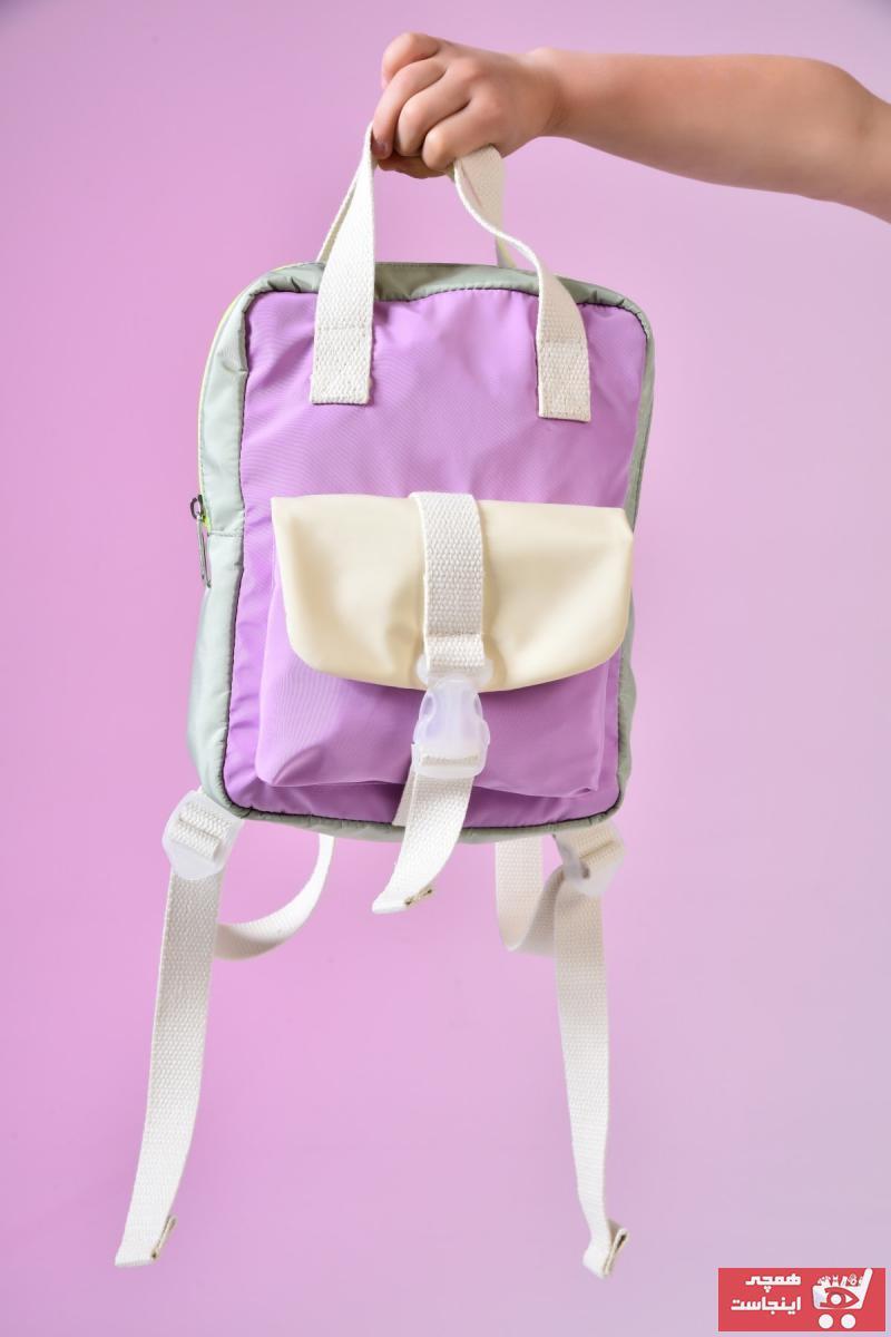 سفارش  کوله پشتی بچه گانه دخترانه برند ICONE BAG رنگ بنفش کد ty118450530