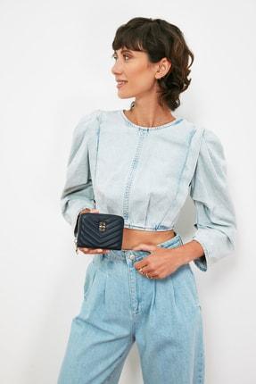 فروش کیف پول زنانه برند پیرکاردن رنگ لاجوردی کد ty101781127