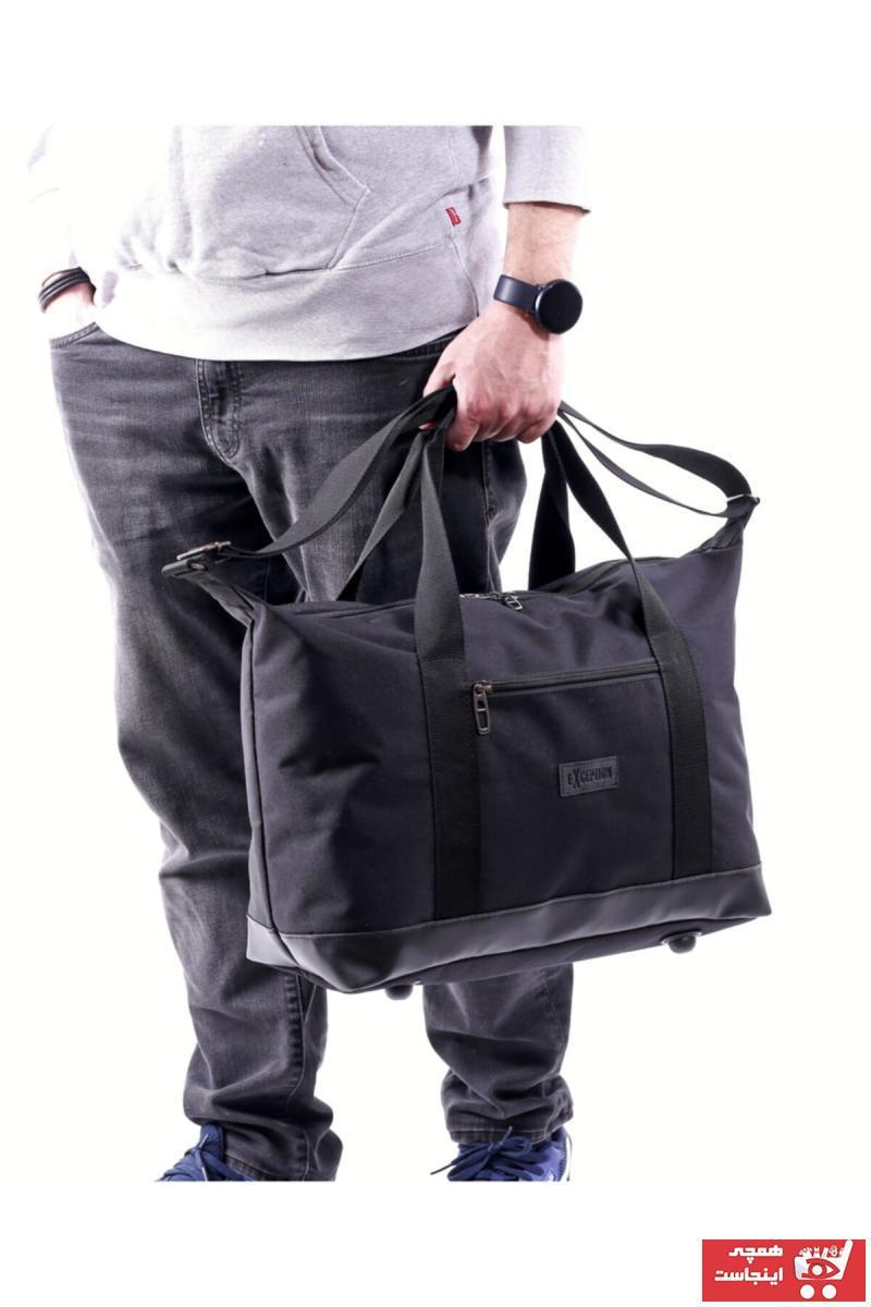 فروش پستی ست کیف ورزشی زنانه برند Exception رنگ مشکی کد ty104835712