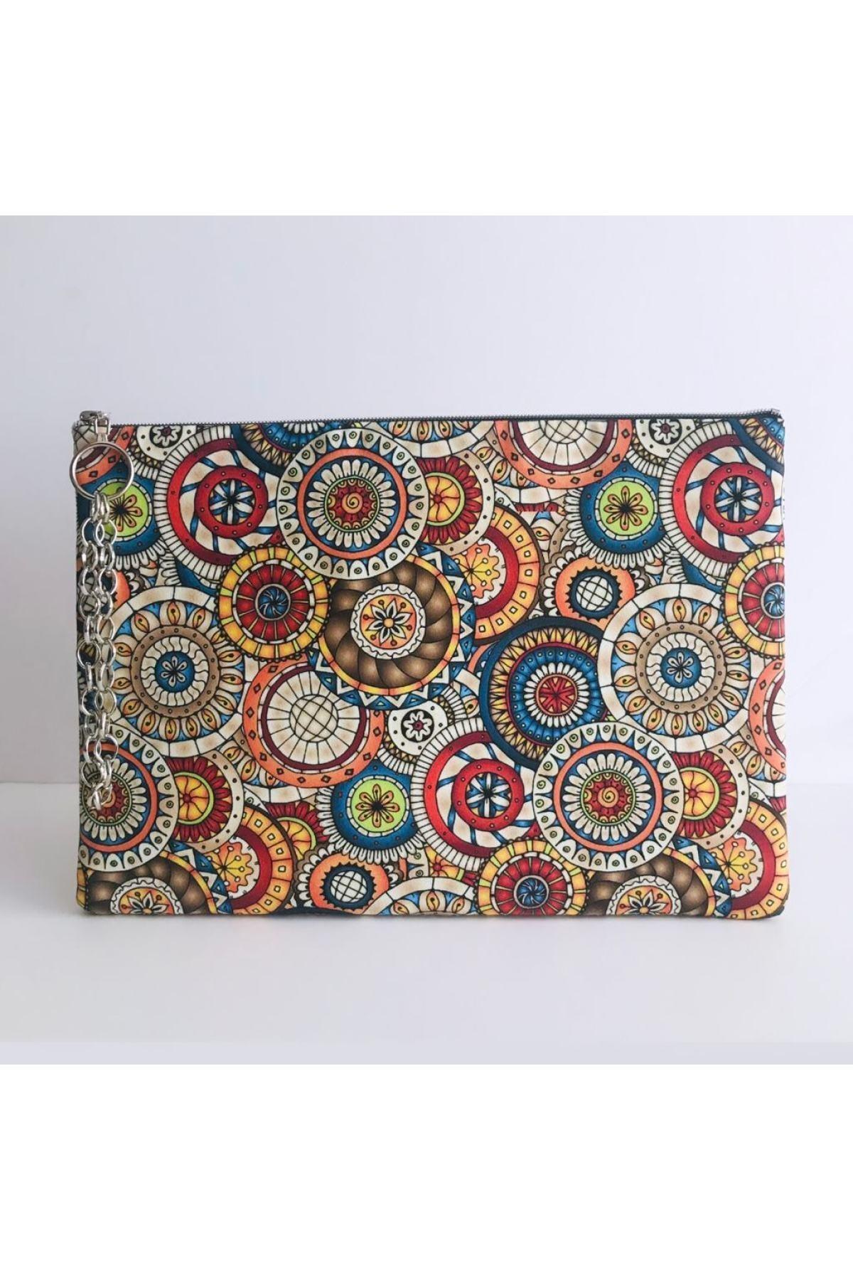 کیف دستی زنانه ساده برند çanta tasarımcısı رنگ نارنجی کد ty106923601