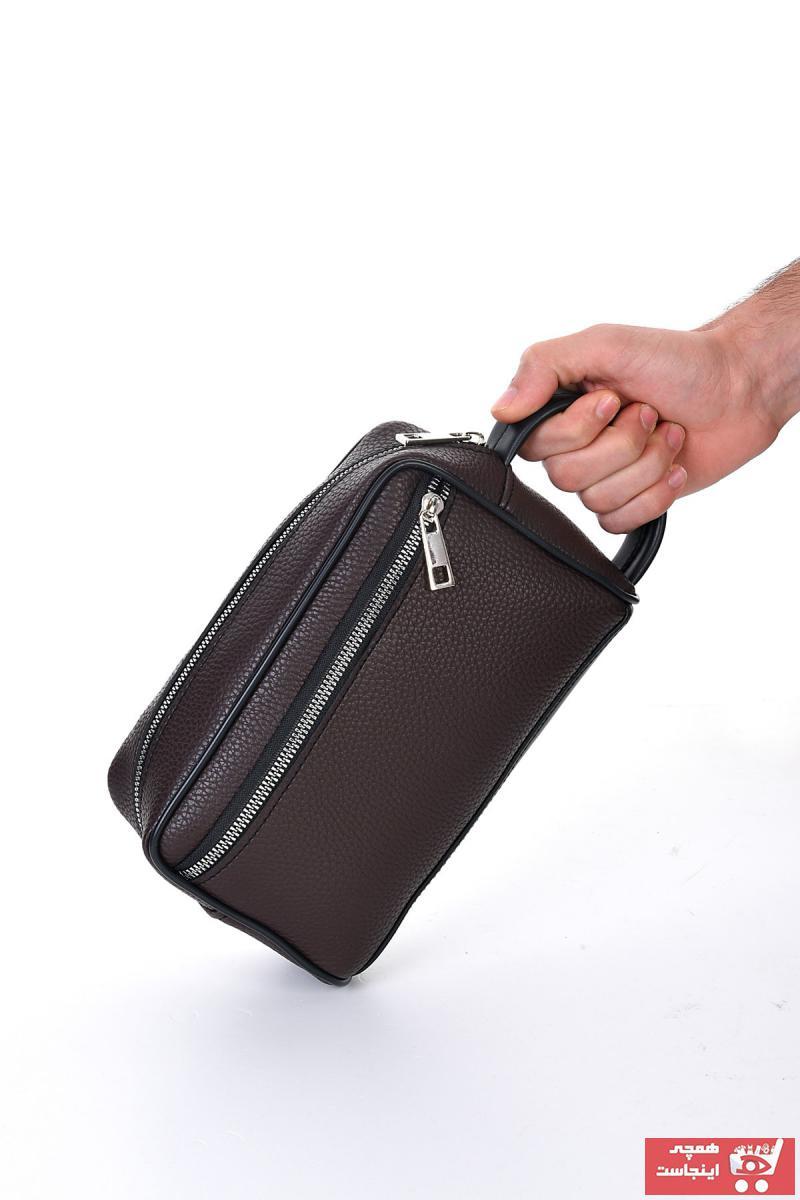 کیف دستی زنانه  برند EŞSİZ رنگ قهوه ای کد ty111400529