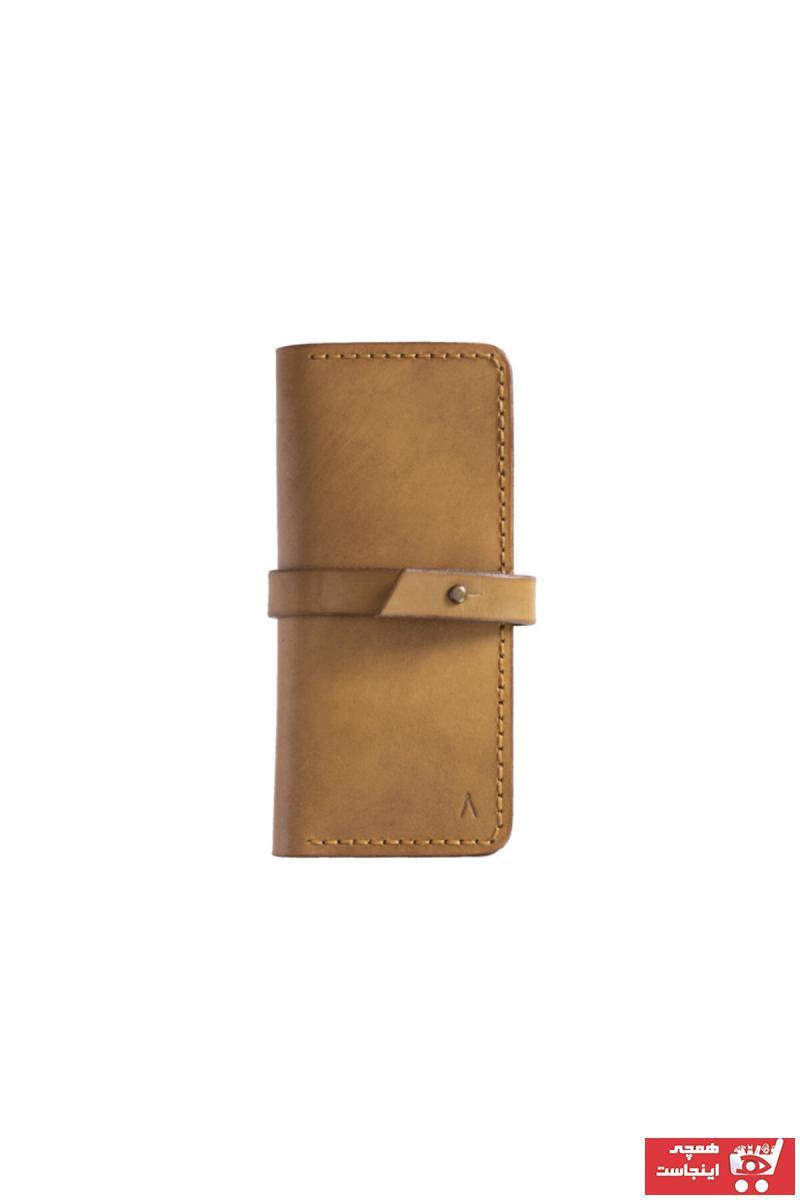 کیف پول بلند برند Lateen رنگ قهوه ای کد ty117410882