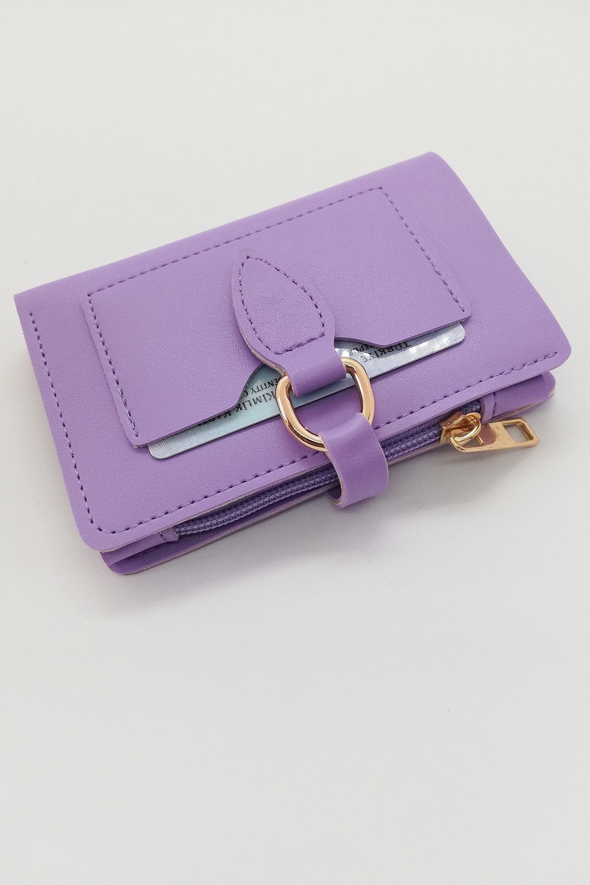 کیف پول دخترانه مدل دار برند ByOzgunTasarım رنگ بنفش کد ty118063728