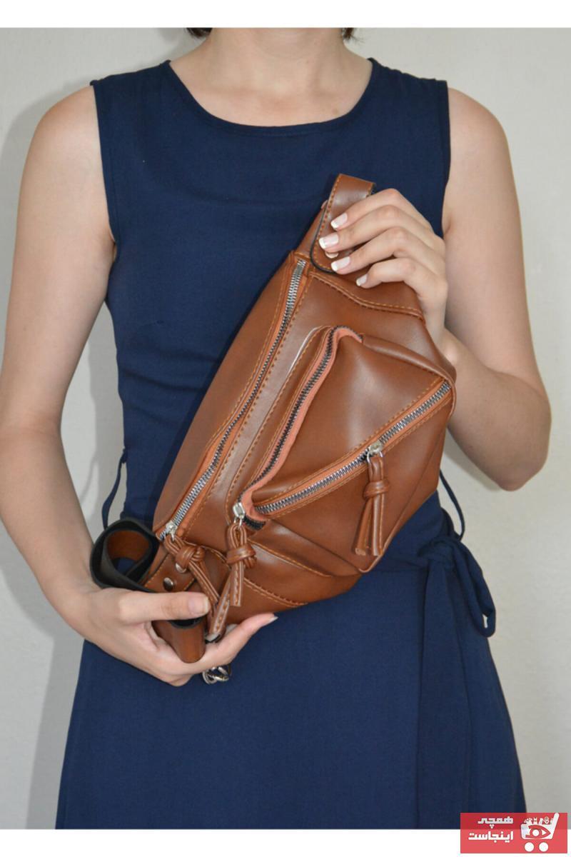 کیف کمری اصل برند Heliosmoda رنگ قهوه ای کد ty118680019