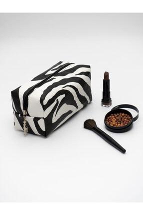 کیف لوازم آرایش زنانه خاص برند Rof Bag رنگ مشکی کد ty118681258