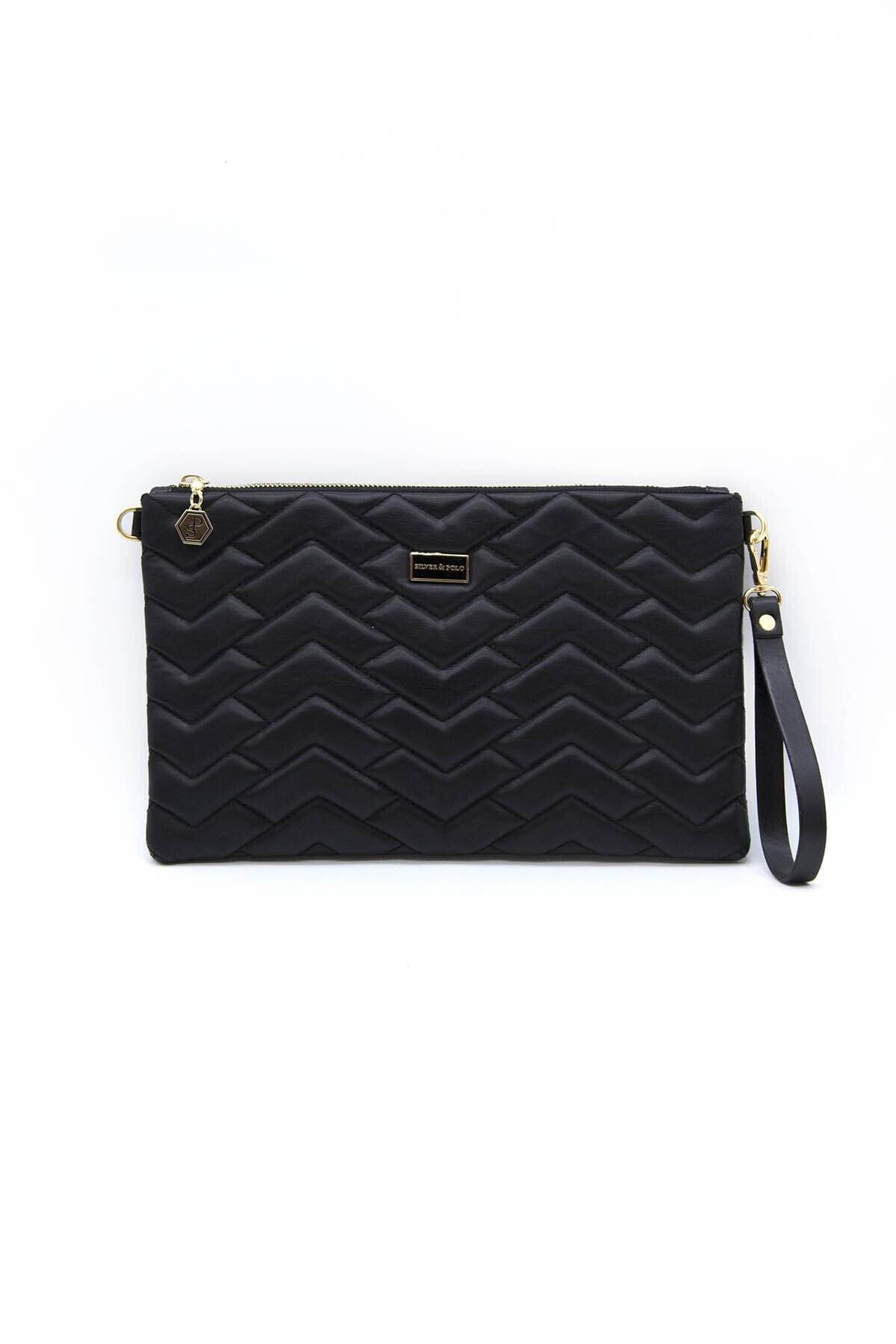 خرید مستقیم کیف دستی جدید برند Silver Polo رنگ مشکی کد ty119425584