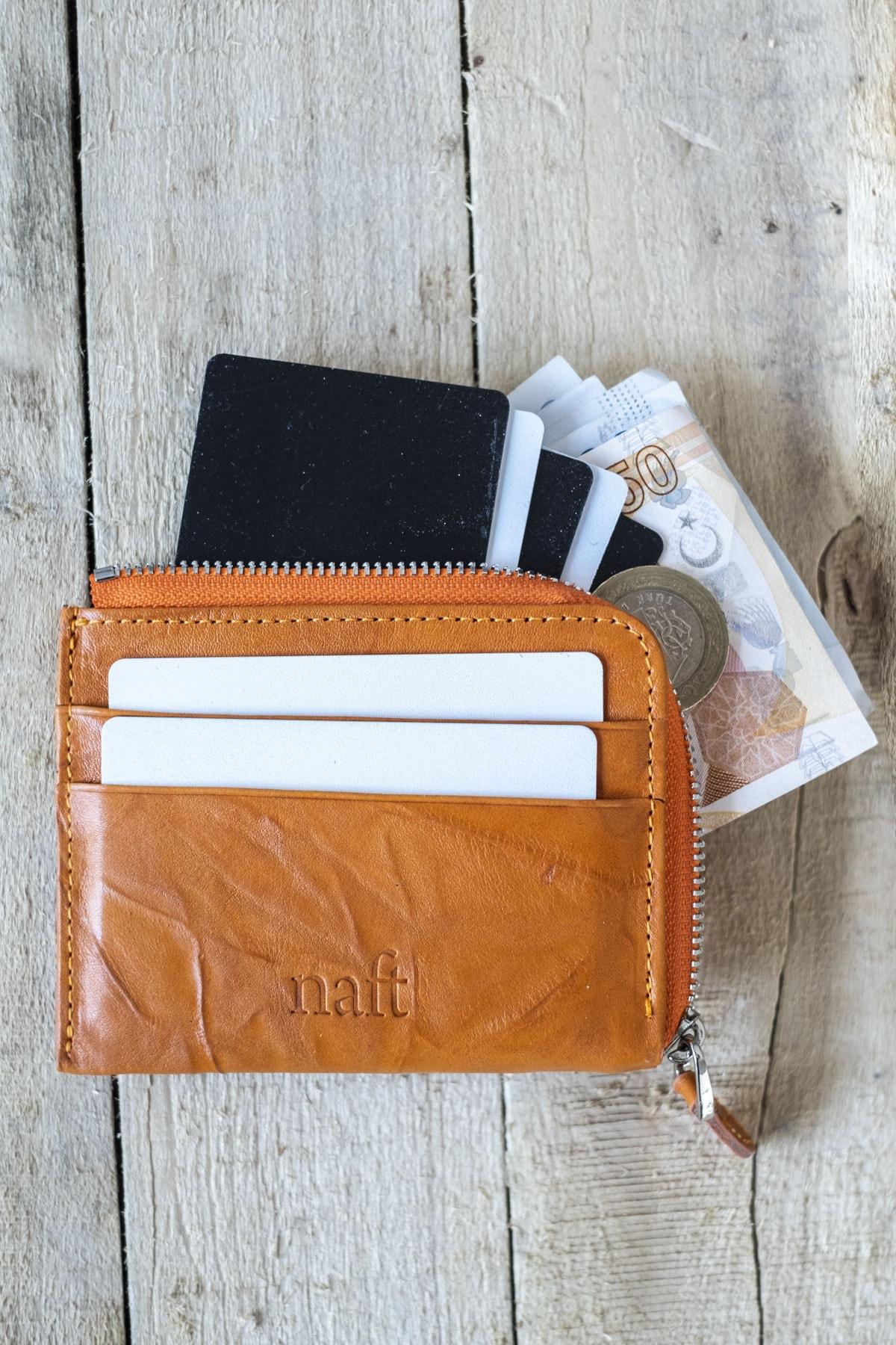 فروشگاه کیف کارت بانکی زنانه اینترنتی برند naft رنگ نارنجی کد ty121395940
