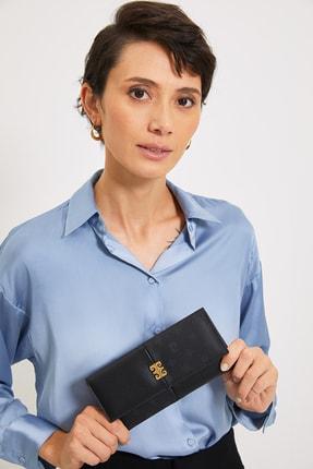خرید انلاین کیف پول زنانه مارک پیرکاردن رنگ مشکی کد Monogram ty121953077