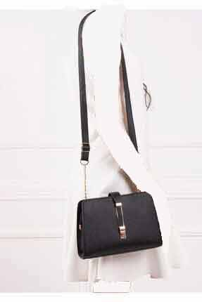 کیف رودوشی زنانه ساده برند Gez çanta رنگ مشکی کد ty122984977