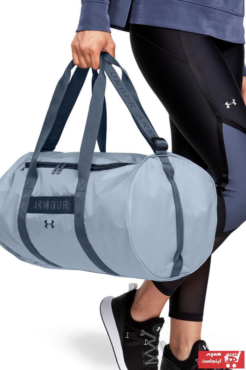 خرید ارزان کیف ورزشی  زنانه برند Under Armour رنگ آبی کد ty32903073