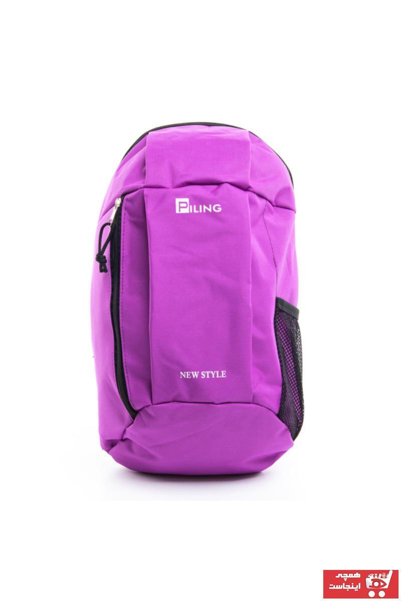 فروش کیف ورزشی زنانه  برند BEBEBEBEK رنگ صورتی ty33992790