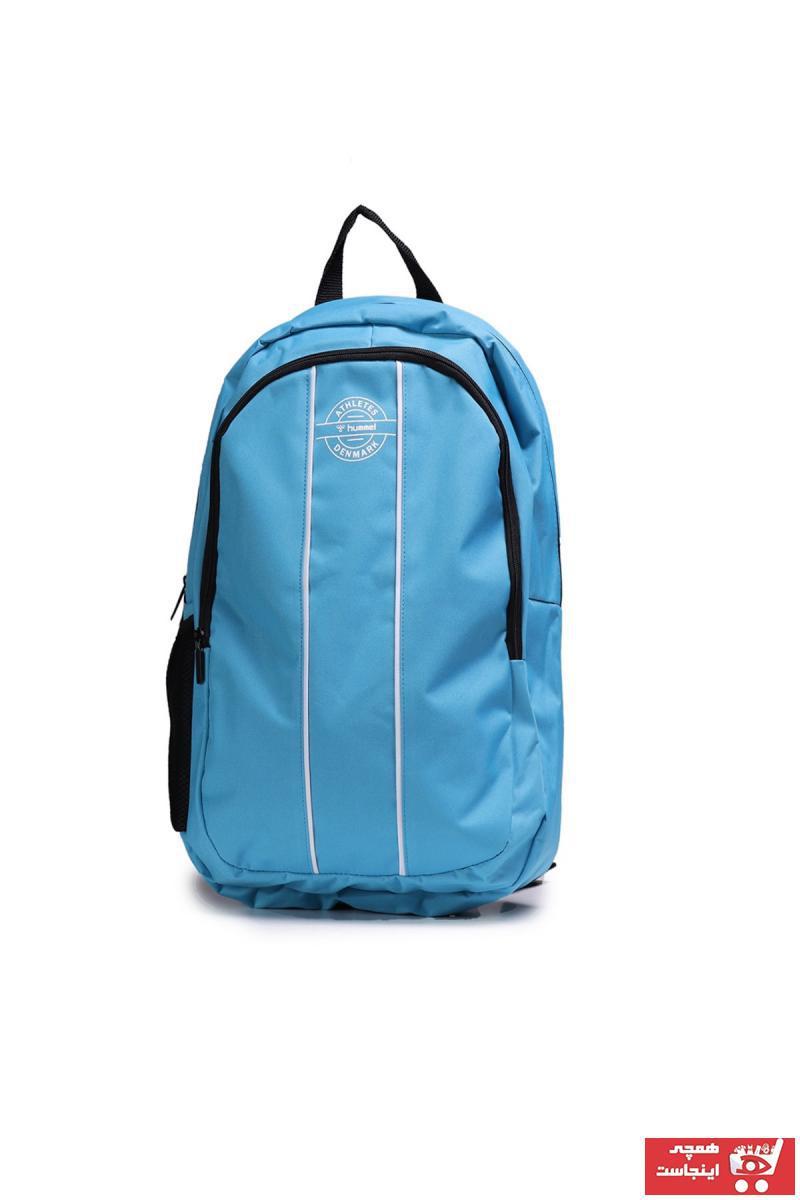 کیف ورزشی طرح دار برند هومل رنگ آبی کد ty36795774