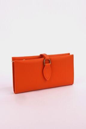 خرید نقدی کیف پول اصل برند ByOzgunTasarım رنگ نارنجی کد ty55639039