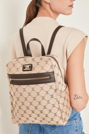 خرید کوله پشتی زنانه خاص برند پیرکاردن رنگ قهوه ای ty73494180
