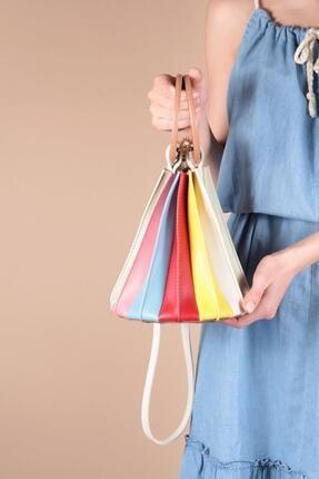 کیف دستی دخترانه اینترنتی برند Capone Outfitters رنگ زرد ty82617315