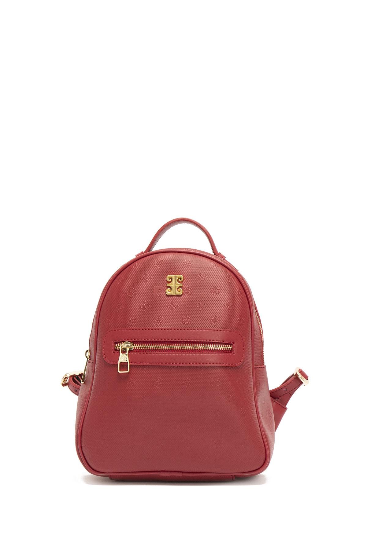 سفارش نقدی کوله پشتی زنانه برند پیرکاردن رنگ قرمز ty94420540