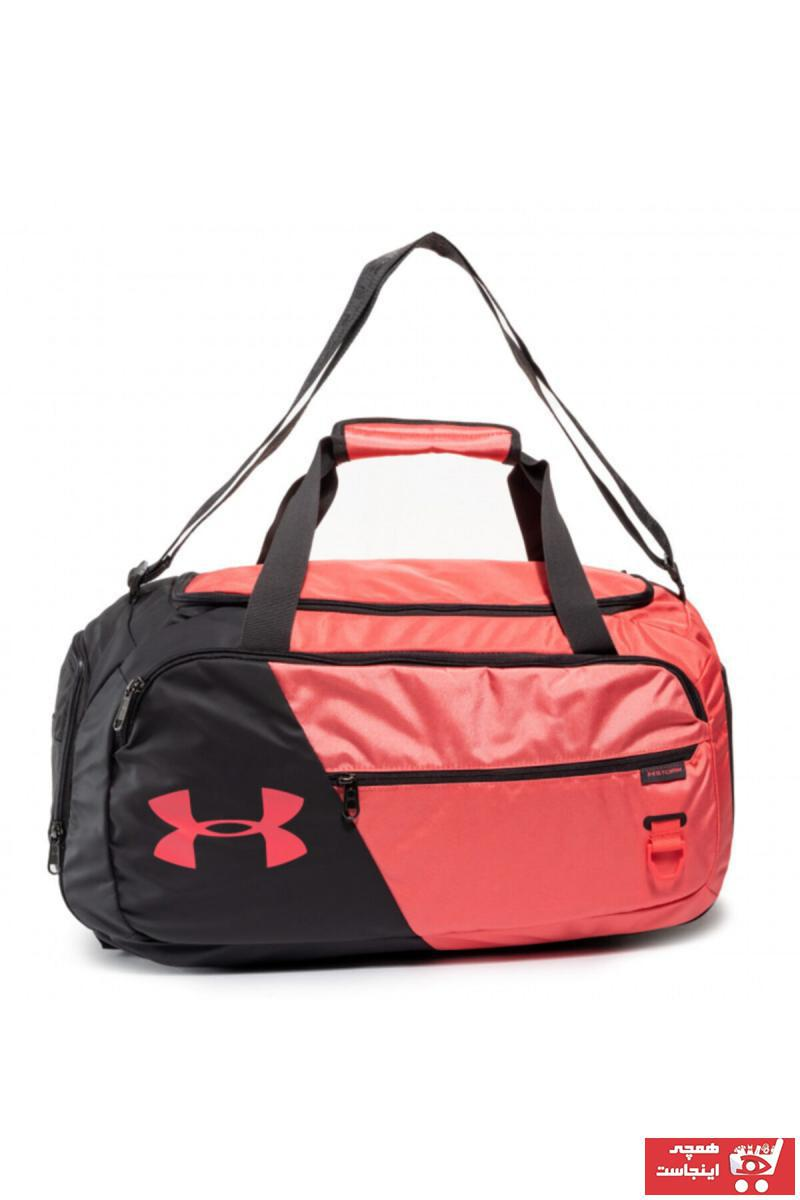 کیف ورزشی زنانه کوتاه برند Under Armour رنگ قرمز ty97961703
