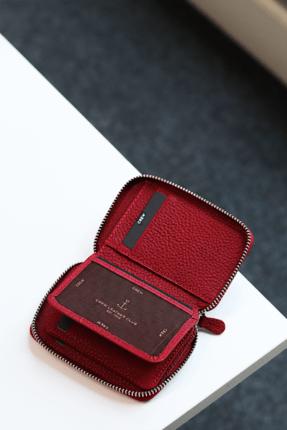 خرید پستی کیف پول اورجینال دخترانه برند Crew Leather رنگ قرمز ty99501349