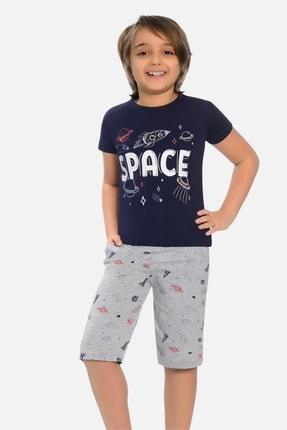 خرید انلاین ست راحتی دخترانه طرح دار برند Little Frog رنگ لاجوردی کد ty101041944