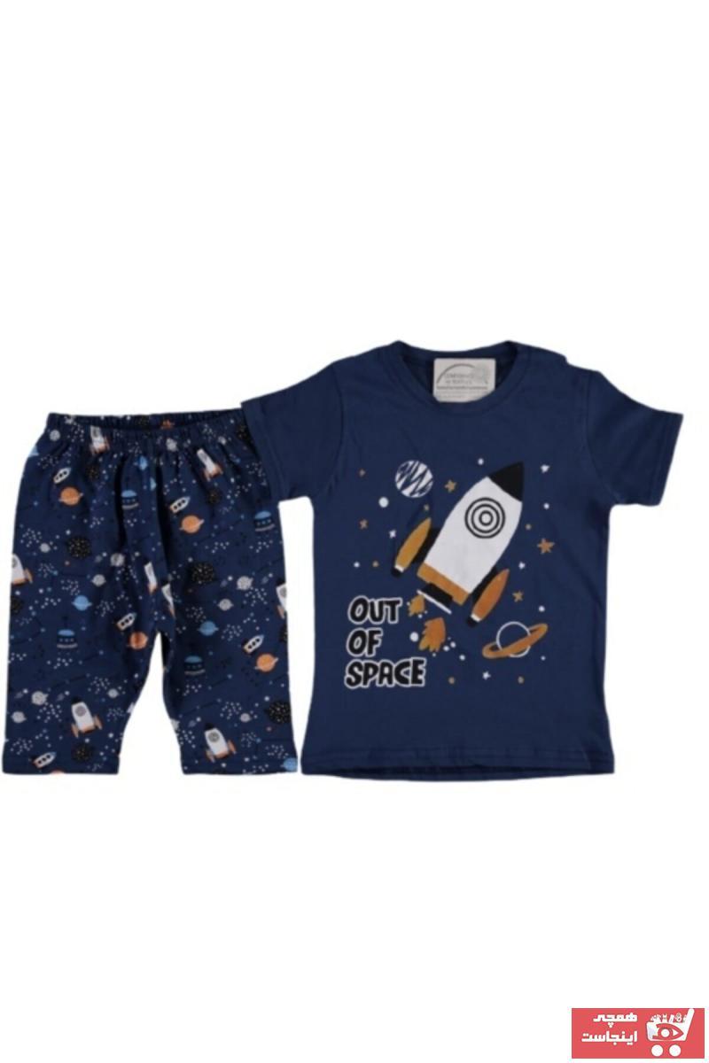 سفارش نقدی ست راحتی ارزان برند Vitmo Baby رنگ لاجوردی کد ty101853768