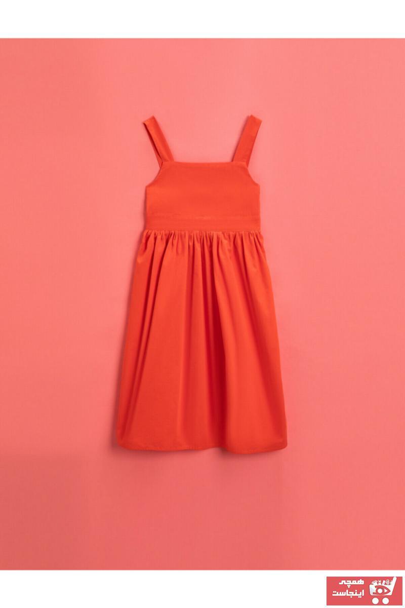 خرید نقدی پیراهن دخترانه ترک برند Koton Kids رنگ قرمز ty103033835