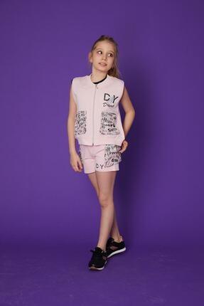 جلیقه جدید دخترانه شیک برند Little Star رنگ صورتی ty104514859