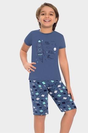 خرید نقدی ست راحتی دخترانه  برند Little Frog رنگ آبی کد ty104848795