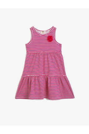 خرید اینترنتی پیراهن دخترانه فانتزی برند Koton Kids رنگ صورتی ty106395579