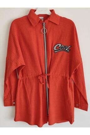 فروشگاه تونیک دخترانه تابستانی برند Pafim رنگ نارنجی کد ty107372578