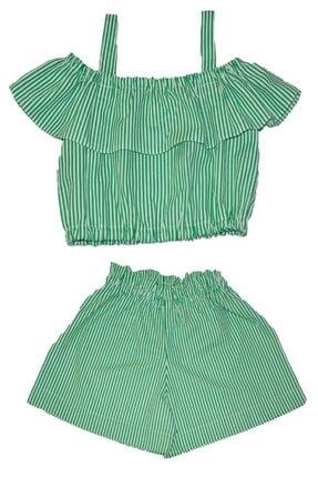 فروشگاه ست لباس دخترانه سال 1400 برند Fullart رنگ سبز کد ty109297535