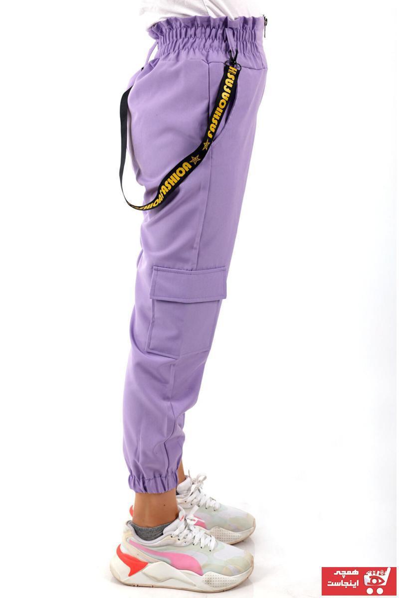 خرید شلوار دخترانه شیک مجلسی برند Enisena رنگ لاجوردی کد ty109865505