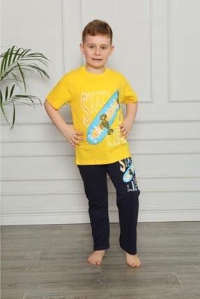 فروشگاه ست راحتی اورجینال برند Canti Çocuk رنگ زرد ty118110195