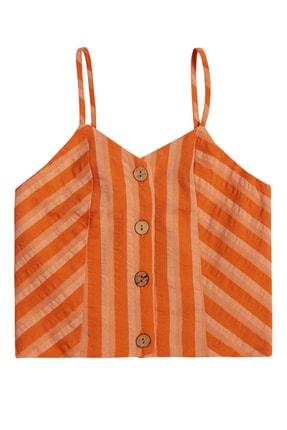 فروش پستی بلوز دخترانه ترک برند Çikoby رنگ نارنجی کد ty119254813