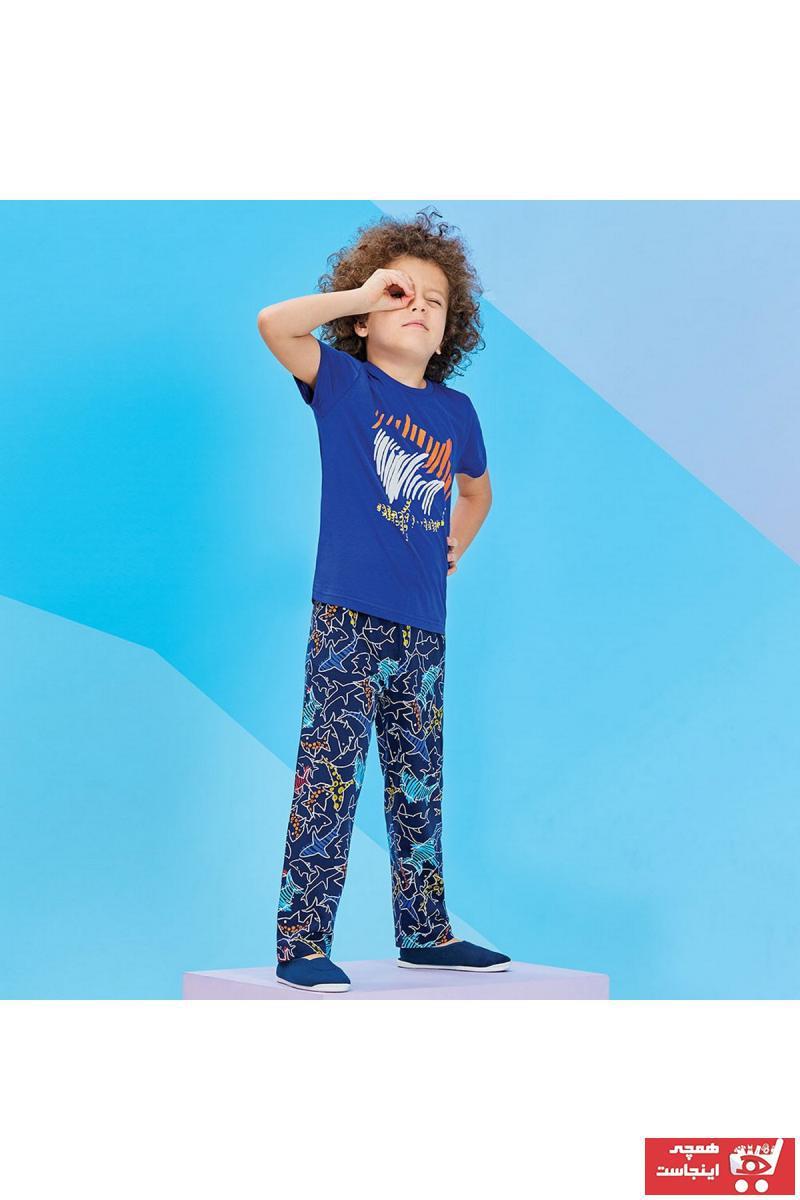 فروش پستی ست ست راحتی دخترانه برند ROLY POLY رنگ لاجوردی کد ty2957679