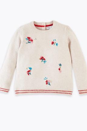 خرید اسان پلیور دخترانه زیبا برند Marks & Spencer رنگ بژ کد ty32871664