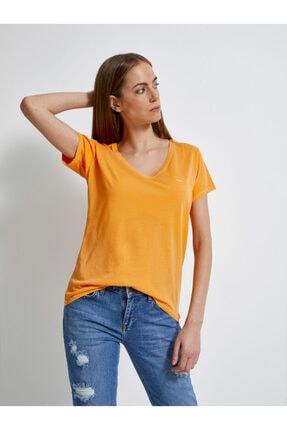تیشرت زنانه اسپرت جدید برند Ltb رنگ زرد ty34810484