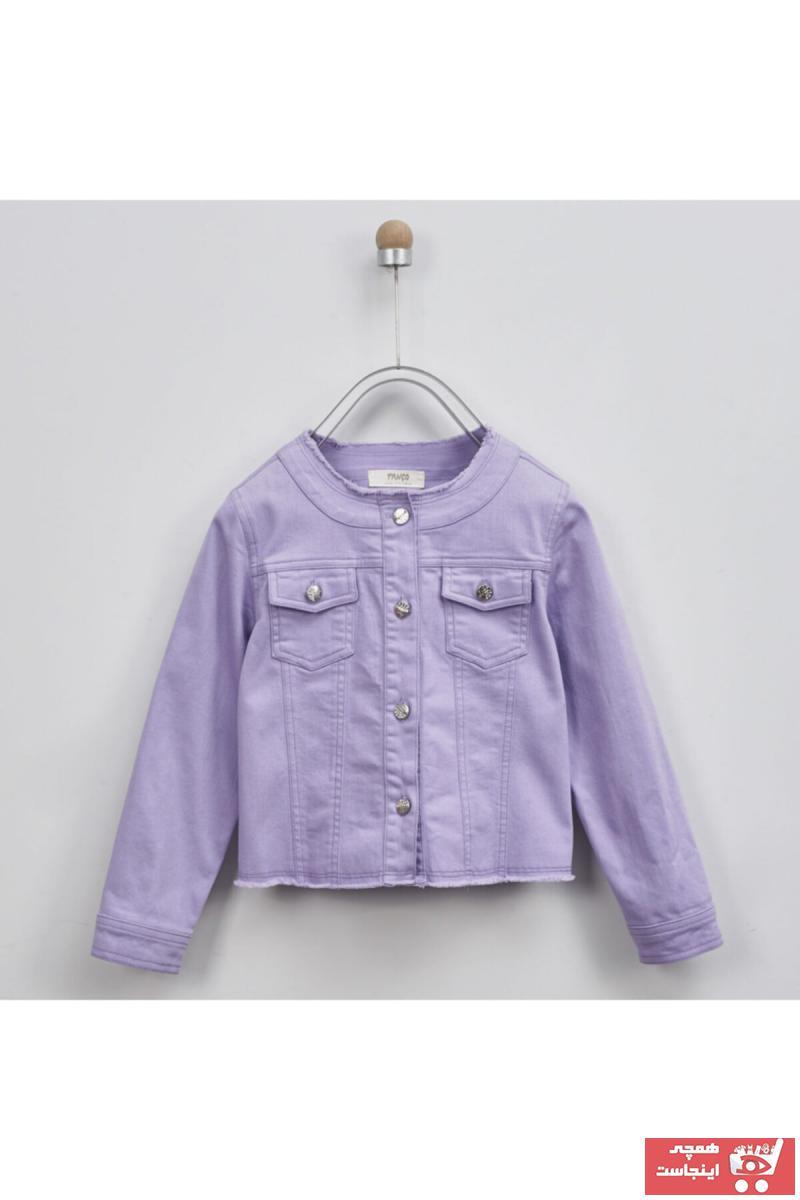 خرید ژاکت دخترانه برند Panço رنگ بنفش کد ty36344137